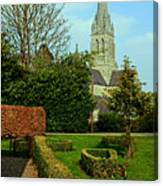 Church Garden Canvas Print