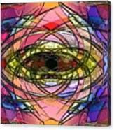 Chruch Window Canvas Print
