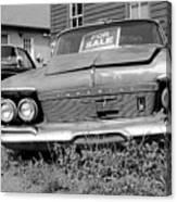 Chrysler Imperials - Bw Canvas Print