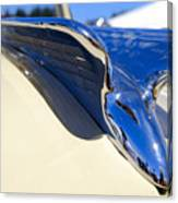 Chrysler New Yorker Deluxe Hood Ornament Canvas Print