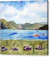 Chrystal Lake  Barton Vt  Canvas Print