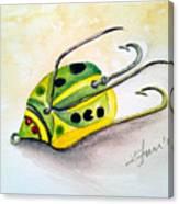 Chub Weed Lure Canvas Print