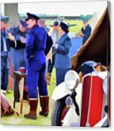 Chucks Away Ww2 Duxford Canvas Print