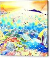 Churaumi Kerama Canvas Print