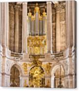 Church Altar Inside Palace Of Versailles Canvas Print
