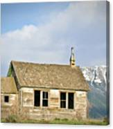 Church And School Canvas Print