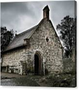 Church At Castle Frankenstein Canvas Print