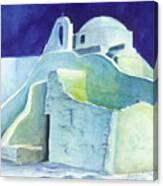 Church At Dusk Canvas Print