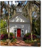Church At Micanopy Canvas Print