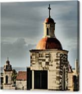 Church Bell Tower, Old Havana Canvas Print