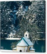 Church By The Achensee Canvas Print