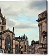 Church Edinburgh II Canvas Print
