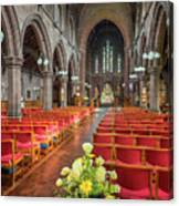 Church Flowers Canvas Print