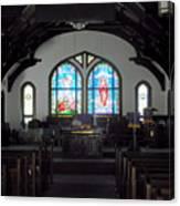 Church - Grand Caymans Canvas Print