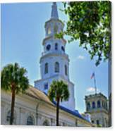 Church In Charleston Canvas Print