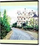 Church In Goa Canvas Print