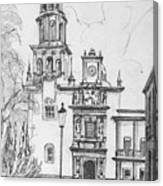 Church In Queretaro, Mx Canvas Print