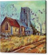 Church In Suffolk  Canvas Print