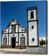 Church In The Azores Canvas Print