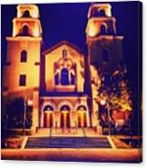 Church Night Canvas Print