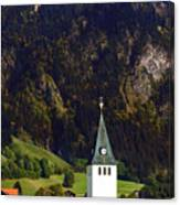Church Of Bad Oberdorf  Canvas Print