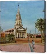 Church Of Caldera Canvas Print