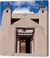 Church Of San Jose De Garcia, Las Canvas Print