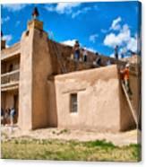 Church Of San Jose De Gracia In Las Trampas New Mexico Canvas Print