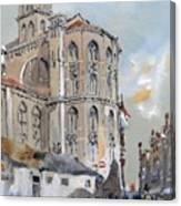 Church Of Santa Maria Canvas Print