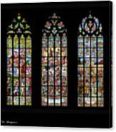 Church Of St. Barbara, Kuntna Hora, Czech Republic, Trilogy Canvas Print