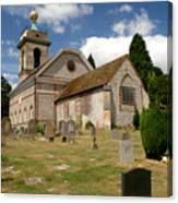 Church Of St. Lawrence West Wycombe 3 Canvas Print