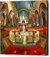 Church Of St. Paul The Apostle Canvas Print