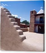 Church Of Taos Pueblo New Mexico Canvas Print