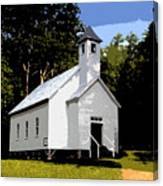 Church Of The Baptist Canvas Print