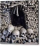 Church Of The Bones Canvas Print