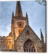 Church Of The Holy Trinity Stratford Upon Avon 2 Canvas Print