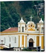 Church Of The Transfiguration Quetzaltenango Guatemala 2 Canvas Print
