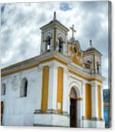 Church Of The Transfiguration Quetzaltenango Guatemala 5 Canvas Print