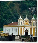 Church Of The Transfiguration Quetzaltenango Guatemala Canvas Print