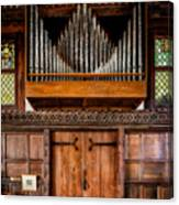 Church Organ Canvas Print