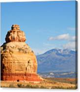 Church Rock Utah Canvas Print