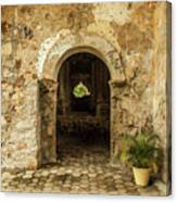 Church Ruins At El Rosario, Sinaloa Canvas Print
