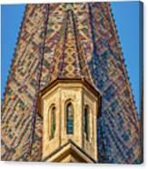 Church Spire Details - Romania Canvas Print