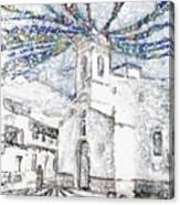 Church Square Canvas Print