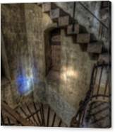 Church Stairs Above Canvas Print
