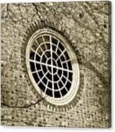 Church Window And Shadows 2 Canvas Print