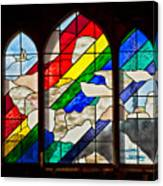 Church Window Canvas Print