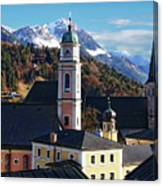 Churches In Berchtesgaden Canvas Print