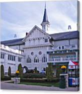 Churchill Downs Paddock Area Behind The Twin Spires Canvas Print