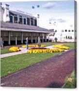 Churchill Downs Paddock Area Canvas Print